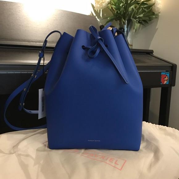 Mansur Gavriel Handbags - Auth Mansur Gavriel Calf Bucket Bag